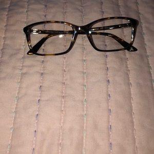 VERSACE Tortoise eyeglasses. New!